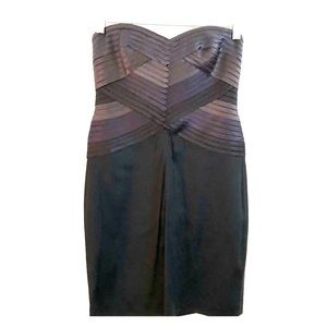 BCBG MaxAzria Mini Strapless Cocktail Dress | Sz 4